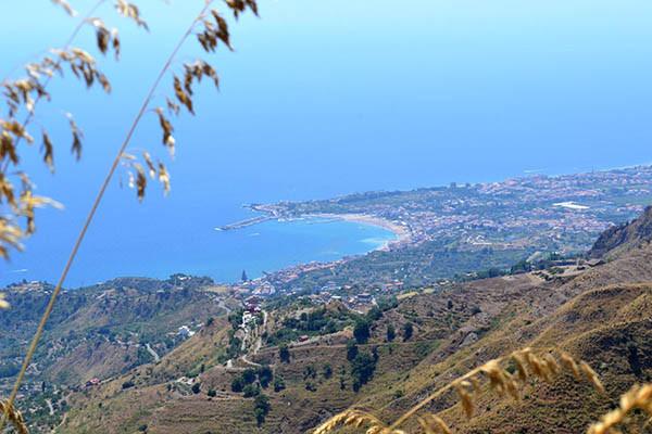 La baia di Taormina