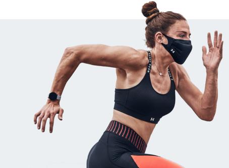 Under Armour Unveils Futuristic Athletic Face Mask