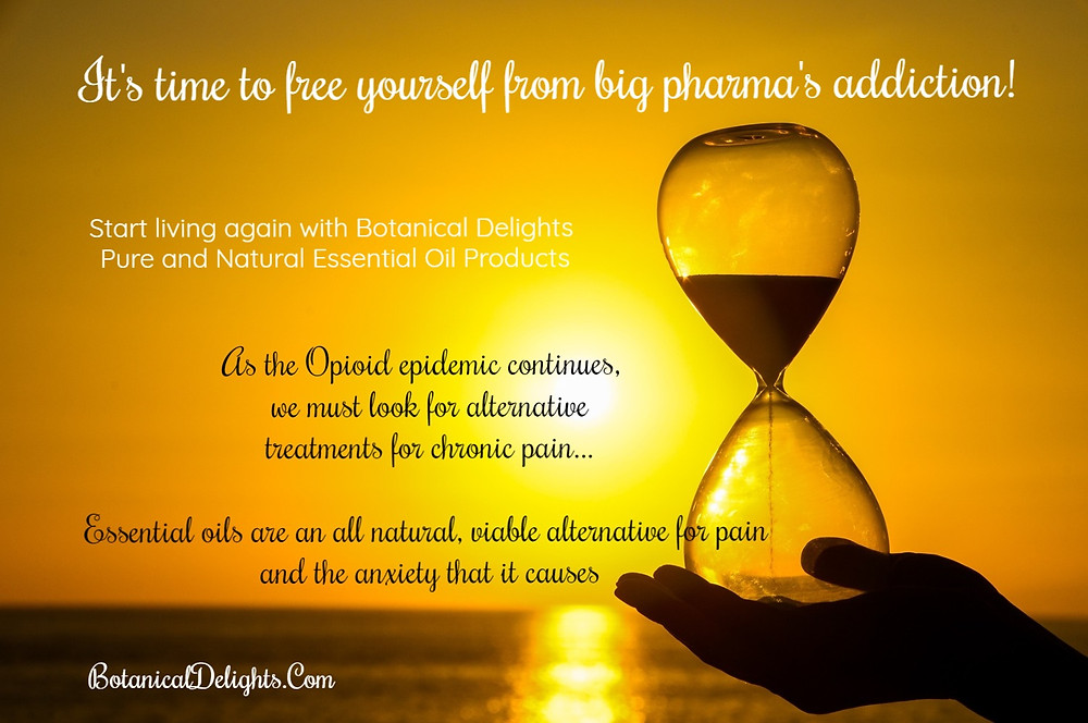 DIY Essential Oil Blends for Pain Opioid addition alternative