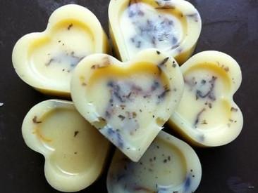 DIY White Chocolate Bath Melts