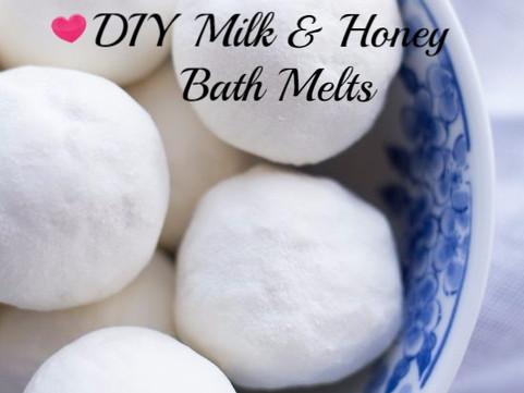 Milk and Honey Bath Melts