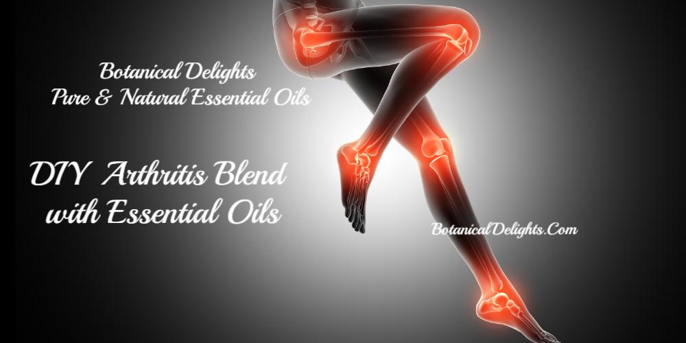 DIY ARTHRITIS PAIN ESSENTIAL OIL BLEND RECIPE