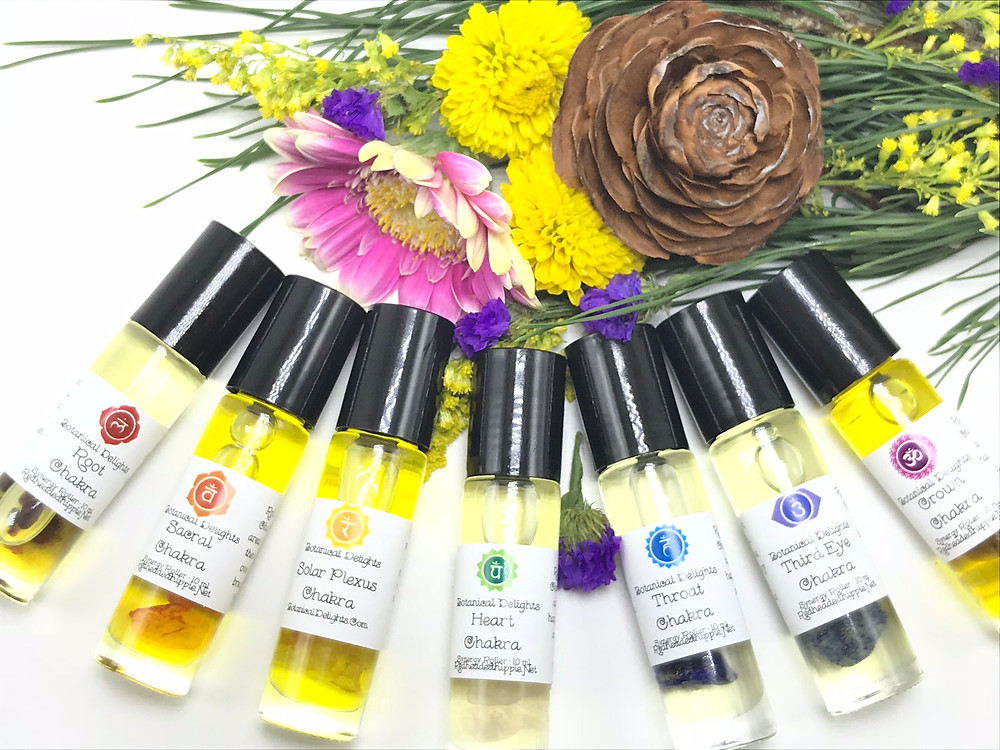Chakra Essential Oil Rollers