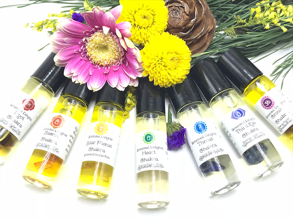 Chakra Balancing with Essential Oils