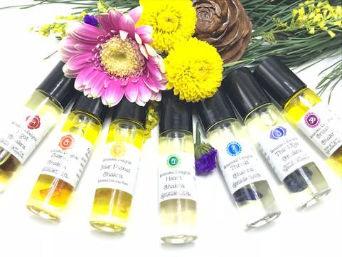 Botanical Delights Chakra Balancing Synergy Blends