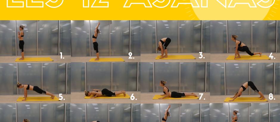 Les 12 postures pour vous dégourdir en sortant du lit (version débutant!)