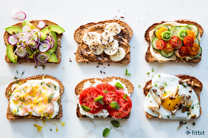 toast breakfast for weight loss at 250 calories
