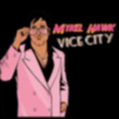 Mykel Hawk Vice City Graphic