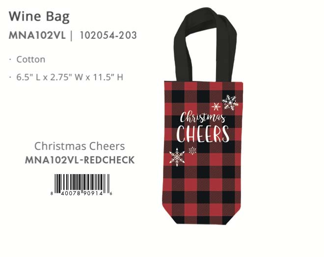 ChristmasWineBag