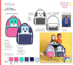 Viv&LouKidsPuppyCharacterBackpacks