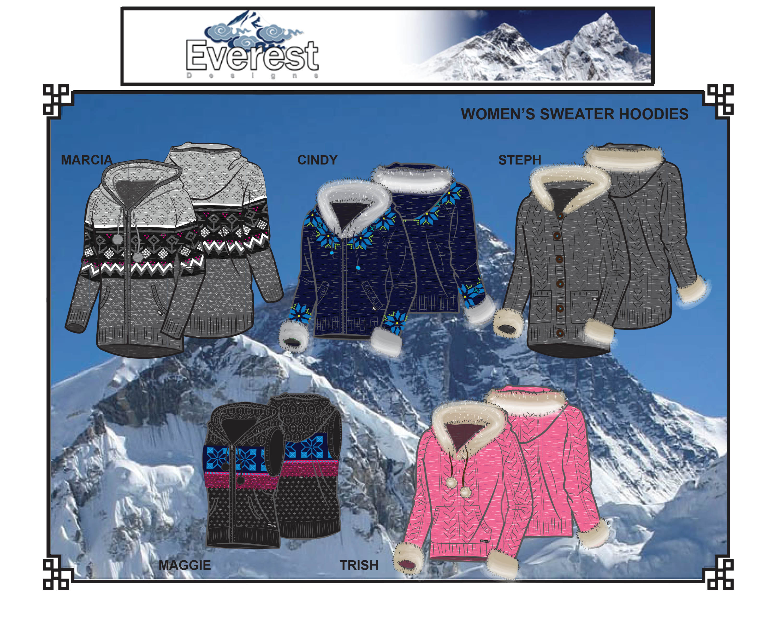 EverestSweaterKnitWomen'sHoodies