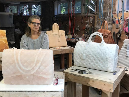 Meet Barbara Segal: The artist that makes luxury bags from luxury stones