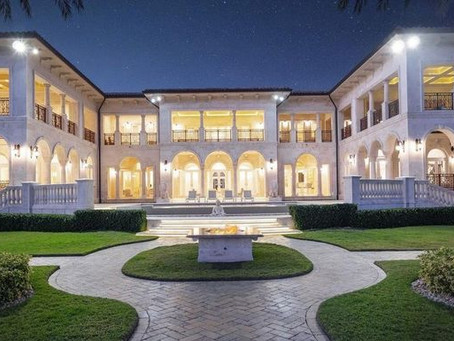 Marble Madness! This House Has $3M Worth of Marble