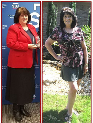 Before & After - 72 Pounds in 9 Months c