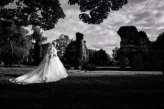 Bride at priory park
