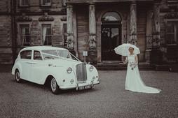 Bride & Car