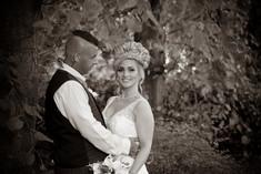 Bride groom priory park