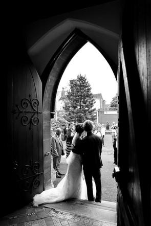 Church Door silhouette