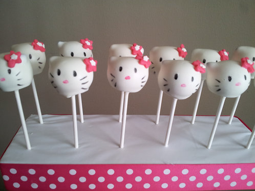 1 Dozen Hello Kitty Cake Pops