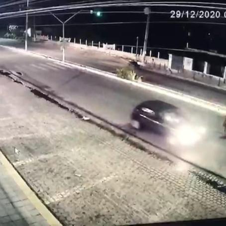 CAVALOS SÃO ATROPELADOS NA PRINCIPAL AVENIDA DA ZONA NORTE DE NATAL