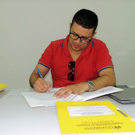 SESSÃO SOLENE DARÁ POSSE AOS NOVOS SERVIDORES DA CÂMARA LEGISLATIVA DE GUAMARÉ