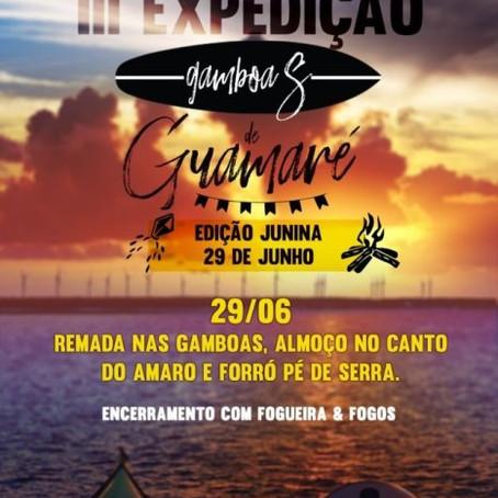 GUAMARÉ REALIZARÁ A III EXPEDIÇÃO DE GAMBOAS DO MUNICÍPIO