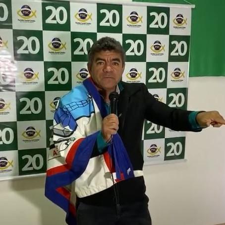 COM A BANDEIRA DE GUAMARÉ NO OMBRO, MARUJO SE APRESENTA COMO O PRÉ-CANDIDATO DO PSC