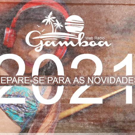 FEVEREIRO DE ESTRÉIA NA WEB RÁDIO GAMBOA, NOVAS VINHETAS, NOVA PROGRAMAÇÃO E MAIS