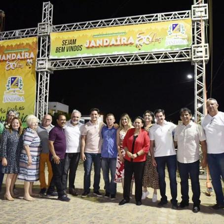 JANDAÍRA, A CIDADE DO MEL, COMPLETA 56 ANOS DE EMANCIPAÇÃO POLÍTICA.