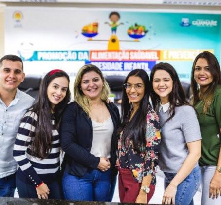 GUAMARÉ DISCUTE MELHORIA DO ESTADO NUTRICIONAL DE CRIANÇAS E ADOLESCENTES
