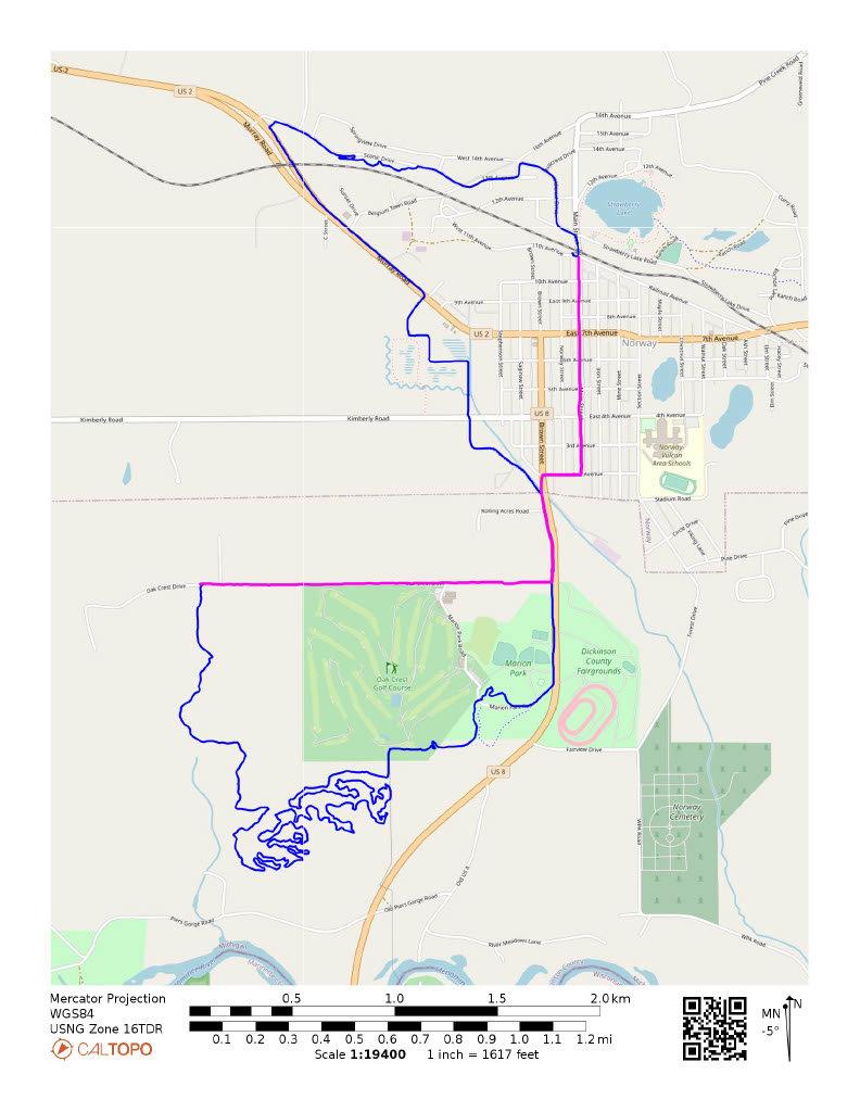 Ogee Challenge Medium Route