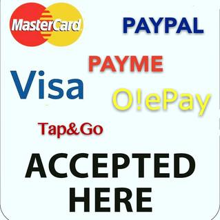 新增各種付款方式教學 A Variety of Payment Options with tutorials!