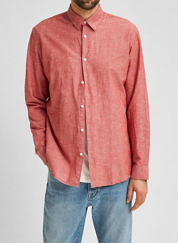 Camisa de Lino y Algodón