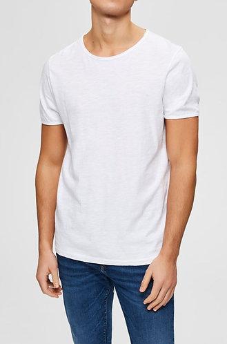Camiseta Básica de Cuello Redondo