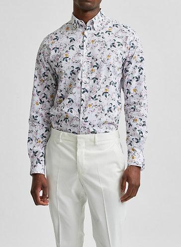 Camisa Estampada Botánico Formal