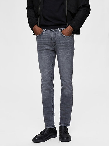 Jeans Skinny de Cintura Media