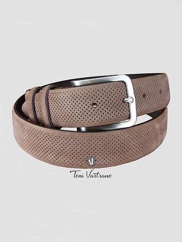 Cinturón Piel Micro Perforado