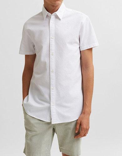 Camisa Manga Corta Tejido Seersucker