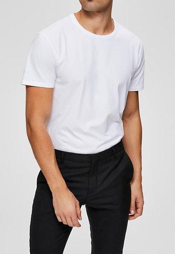 Camiseta Algodón Pima Cuello Redondo