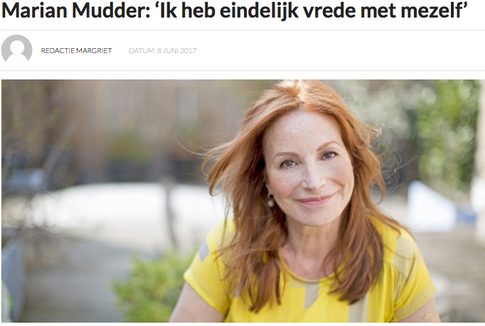 Interview met Marian Mudder over Sofasessies in Margriet