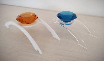 1-er Bogen Plexiglas Weiss oder Transparent