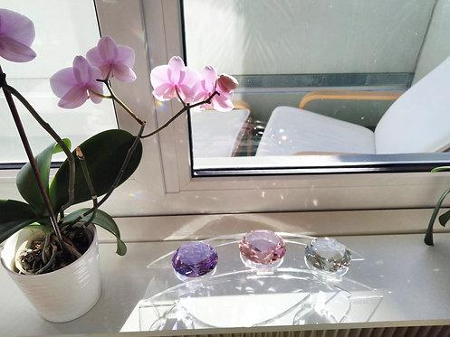 3-er Kristallbogen Plexiglas transparent