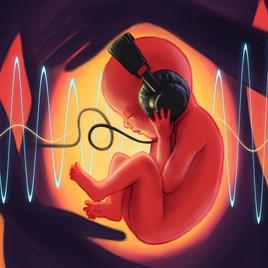 Mito ou verdade: bebês conseguem ouvir ainda dentro do útero?