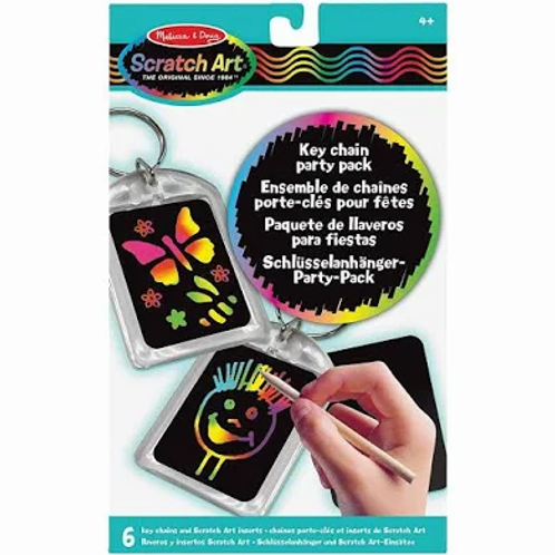 Scratch Art -  Key Chain Party Pack