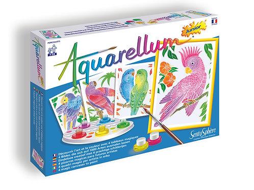 Parrots - Aquarellum Junior