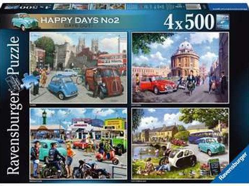 Happy Days No 2, Days Out 4 x 500pc