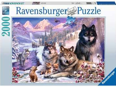 Wolves in the Snow, 2000pc