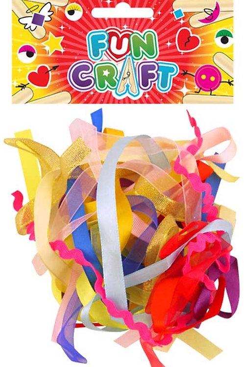 Fun Craft Ribbon - 3cm Ast