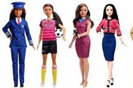 Barbie Career 60th Anniversary Dolls - Sold Singularly