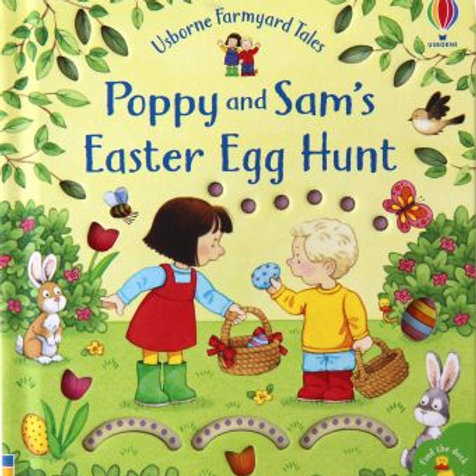 Poppy & Sam Easter Egg Hunt